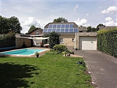 te koop huis met tuin en zwembad