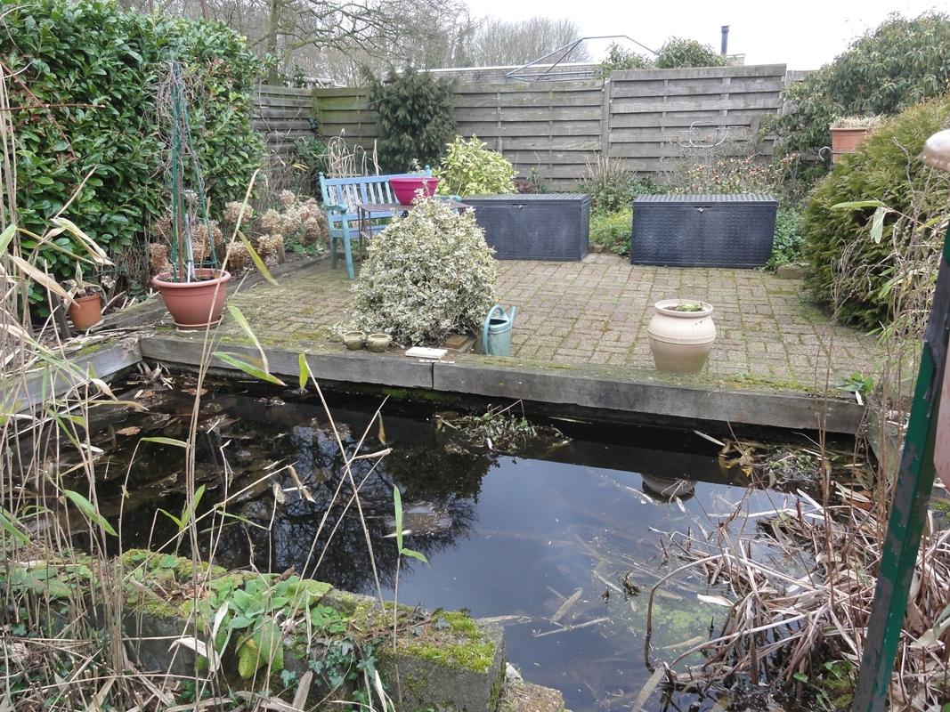 huis met tuin te koop